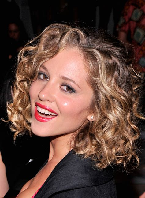 permed hairstyles for square fasce margarita levieva photos photos mbfw front row at