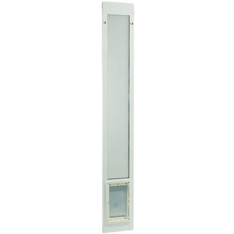 96 Patio Door Fast Fit Pet Patio Door 96 Quot Medium White