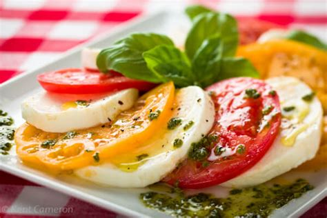 florence salad tomato salad caprese florence italy a food centric