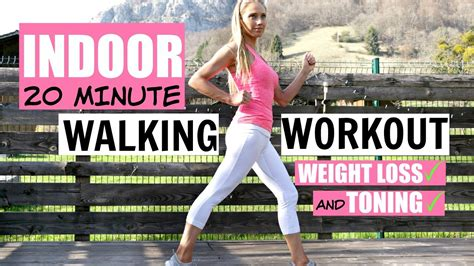 walk at home workout 20 minute routine to help you