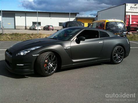 nissan gtr matte black and nissan gtr r35 matte black auto ident