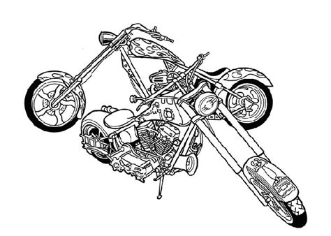 coloring pages of motorcycles to print motorcycle coloring pages