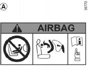Bmw Airbag Aufkleber Sonnenblende Entfernen by Renault Twingo Deaktivierung Aktivierung Des