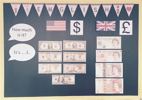 wimpel englisch materialwiese die englischecke in der grundschule