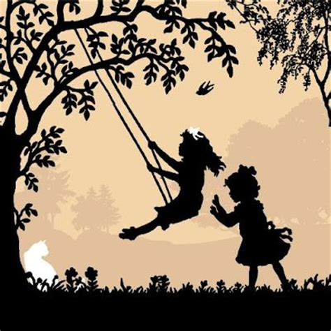 friends swinging memories of childhood swinging with friends and family