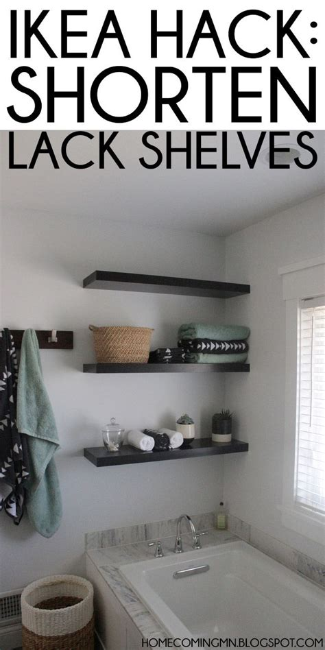 ikea lack shelf hack 25 best ideas about ikea hack bathroom on pinterest