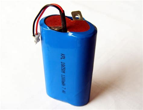 Shelf Lithium Ion Battery by 18650 Lithium Ion Battery Pack With 1800mah Nominal