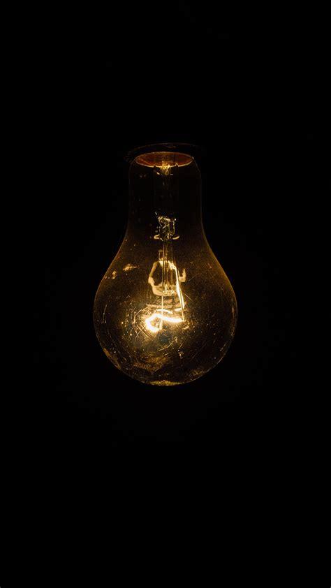 incandescent light bulb up iphone 6 hd