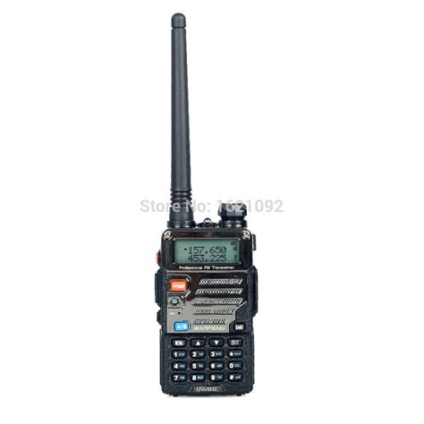 Baofeng Walkie Talkie Dual Band Two Way Radio 5w 128ch Fm A52 baofeng uv 5re walkie talkie dual band two way radio pofung uv 5re 5w 128ch uhf vhf fm vox dual