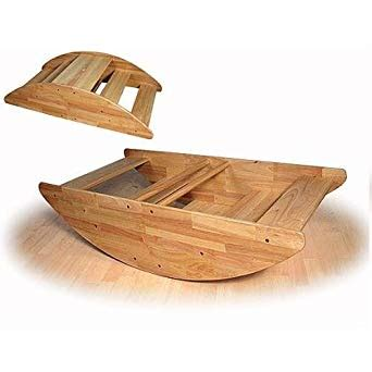 step climber rocking boat wooden rocking boat seats up to 4 children