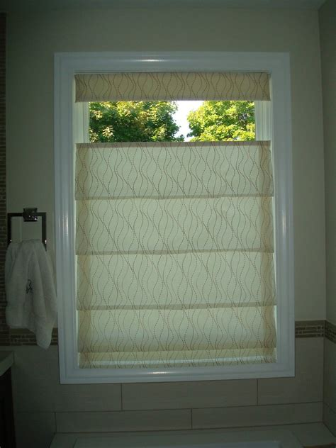 Hobbled Top Down Bottom Up Roman Shade Curtain Couture