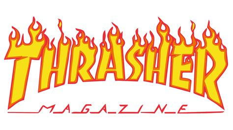 The Thrasher by Thrasher Logo Thrasher Symbol Meaning History And Evolution