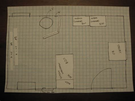 Room Planner Graph Create A To Scale Sketch With Graph Paper To Make Space