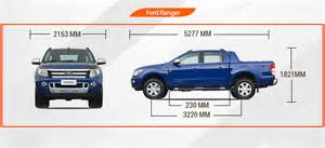 ford ranger bed dimensions cabin not just commercial drives anymore