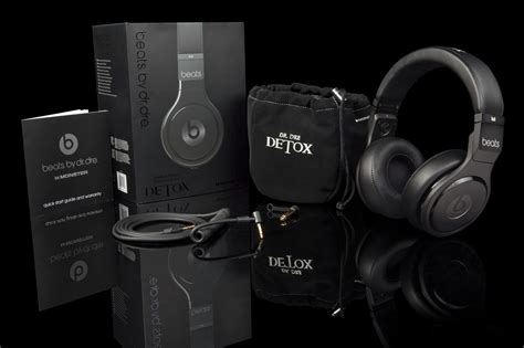 Dre Beats Detox Headphones by Limited Edition Beats By Dr Dre Swagger Magazine