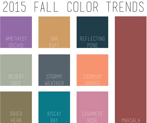 fall colors for 2015 28 images trendy colors fall winter 2014 2015 fall winter 2014 2015