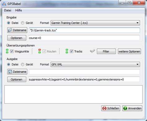 format html file input how to convert a non gpx track file into a gpx track file