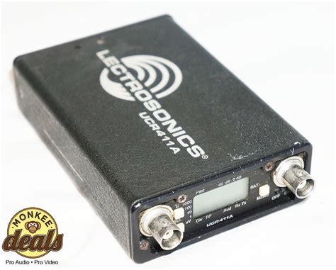 Lectrosonics Ucr411a Wireless Receiver lectrosonics ucr411a wireless receiver block 20