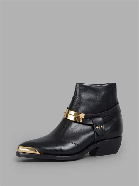 low boots balmain 226 s black santiago low boots in black save