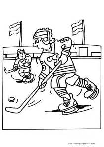 sports coloring sheets hockey winter sports color page sports coloring pages
