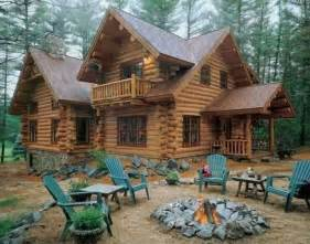 Log Cabin In by Beautiful Log Cabin Wish List