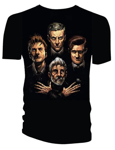 Tshirt March Stp doctor who t shirts the four doctors merchandise guide