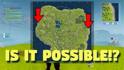 fortnite and poland how does it take to run across the map in fortnight