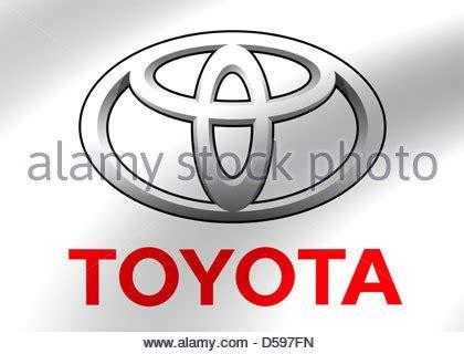 toyota stock symbol toyota logo symbol flagge stockfoto bild 54907484 alamy