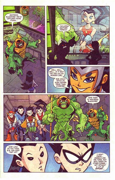 teen titans  comic book series teen titans  issue  troy