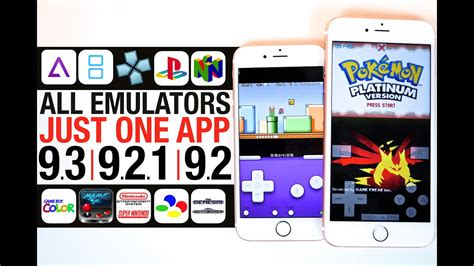 all emulators ios 9 3 9 2 1 9 2 gba nds psp ps1 n64