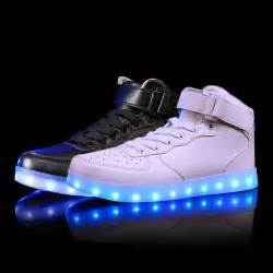 s light up shoes 2016 lights up led luminous shoes high top glowing