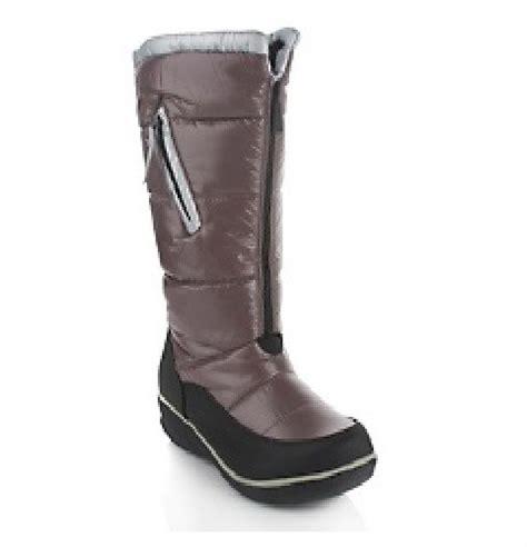 sporto waterproof boots sporto waterproof quilted winter boots w zipper