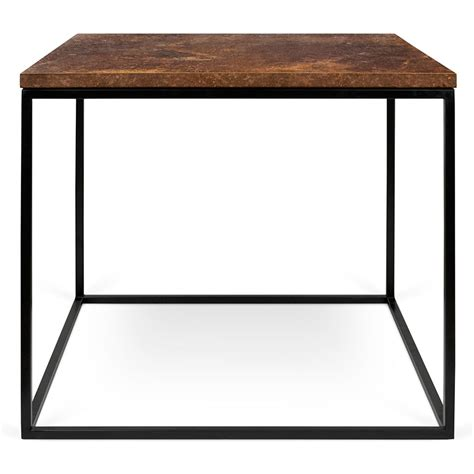 how to clean rust off chrome table legs gleam rust black modern side table by temahome eurway