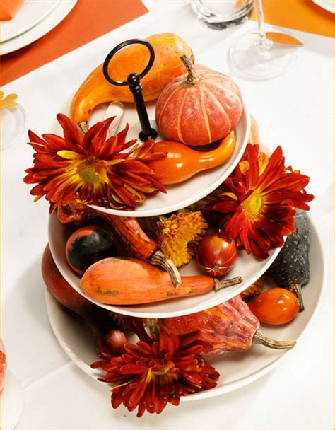 Handmade Thanksgiving Decorations - easy and thanksgiving handmade centerpieces