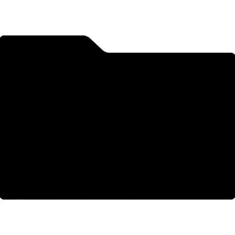 black folder icons free download