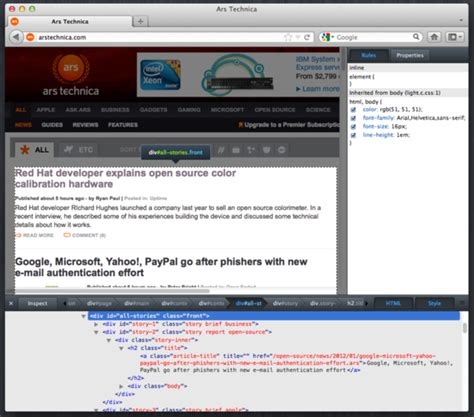 firefox themes full screen firefox 10 arrives with new dev tools and full screen api