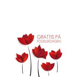 grattis 246 da blommor