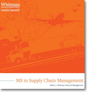 Syracuse Mba In Strategy by Syracuse Whitman School Of Management Ms In