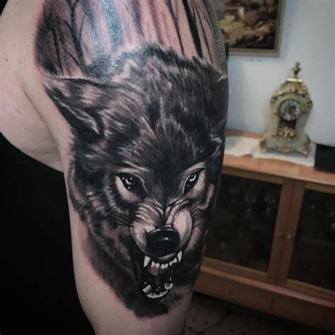 amazing wolf tattoo idea best designs with meaning