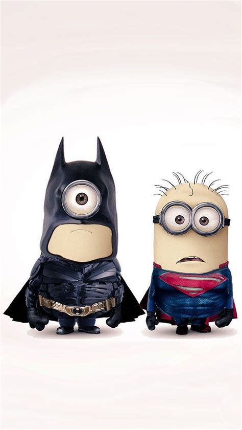 wallpaper for iphone 5 minion batman vs superman minions 2016 is not too close but