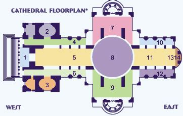 parts of a cathedral floor plan history history in depth the cathedrals of britain