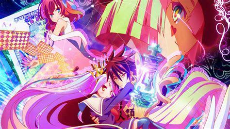 wallpaper game anime anime review no game no life windinabox