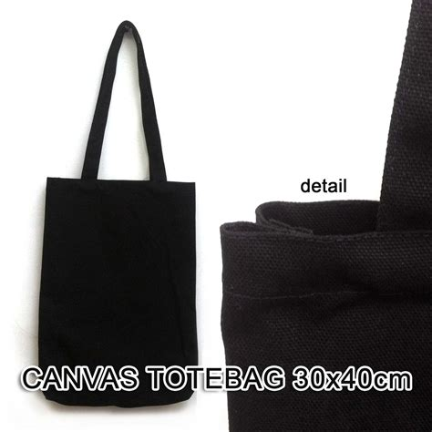 Goodie Bag Totebag Blacu Souvenir Tas Tas Blacu Uk 25 35 1 jual tas kanvas polos black canvas hitam totebag tebal