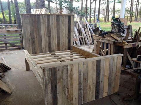 wooden pallet bed frame wooden pallet bed frame