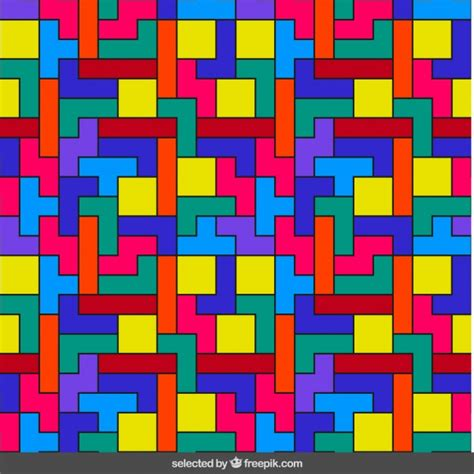 colorful pattern vector tetris colorful pattern vector free download