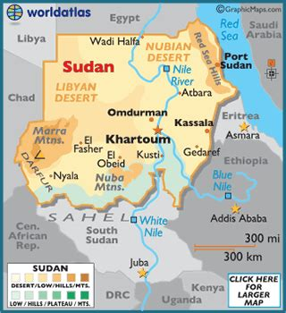 where is sudan on the world map sudan map geography of sudan map of sudan worldatlas
