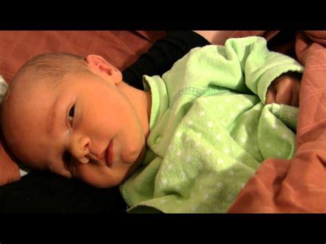 sleeps with open newborn baby sleeping with open