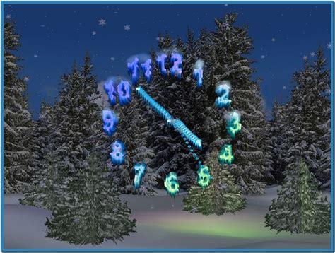 christmas clock screensaver free download christmas 3d christmas clock screensaver download free