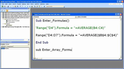 java tutorial vector exle refresh array formula excel vba the many ways to refresh
