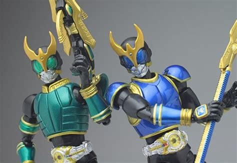 Fingerdoll Kamen Rider Kuuga Set 2 sh figuarts kamen rider kuuga rising pegasus and rising set review jefusion
